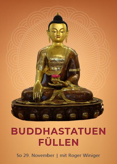 Buddha Statuen fuellen