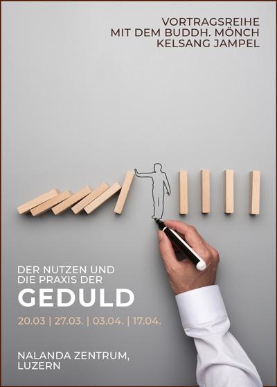 Buddhismus Luzern - Vortrag - Praxis der Geduld