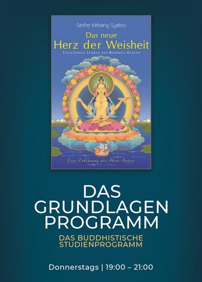 Buddhismus Studium - Buddhas Lehre - Das Grundlagenprogramm