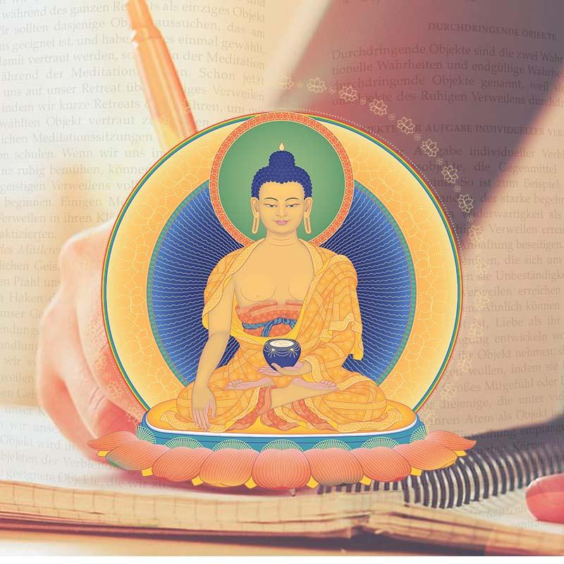 Buddhismus studieren - Das Grundlagenprogamm - das buddh. Studienprogramm