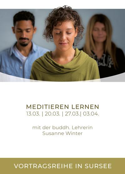 Buddhismus und Meditation in Sursee - Vortragsreihe