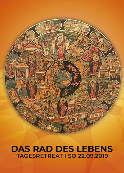 Das Rad des Lebens - Samsara Buddhismus - Retreat