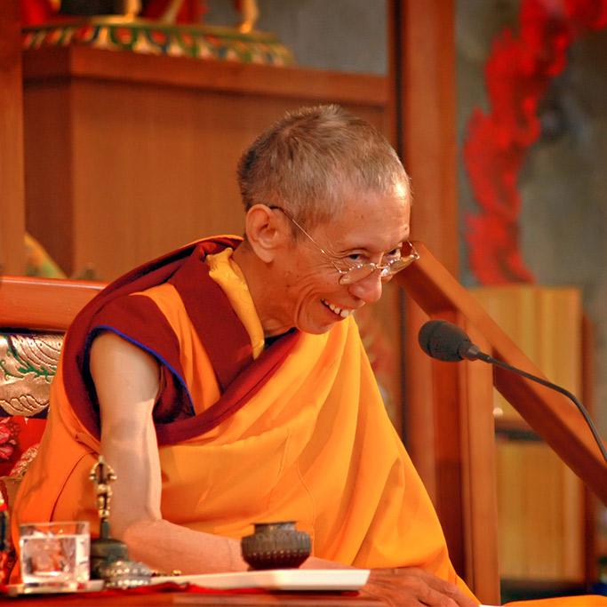 Der Ehrwürdige Geshe Kelsang Gyatso Rinpoche
