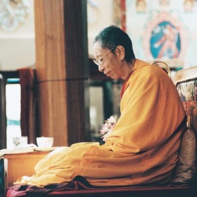 Ehrwürdige Geshe Kelsang Gyatso Rinpoche
