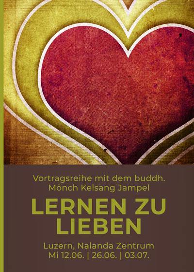 Lieben lernen - Vortrag Buddhismus - Luzern