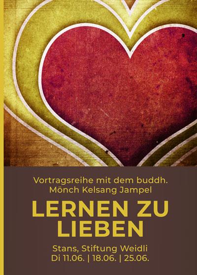 Lieben lernen - Vortrag Buddhismus - Stans