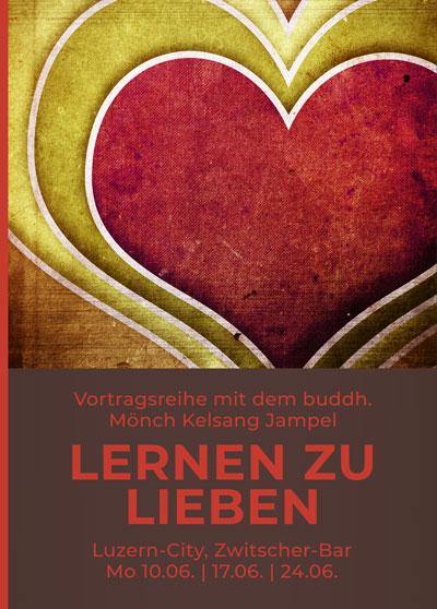 Lieben lernen - Vortrag Buddhismus - Zwitscherbar