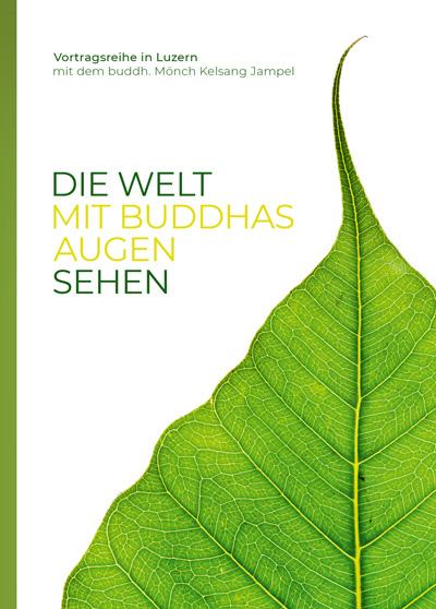 Meditation und Buddhismus Luzern - Vortrag - mit Buddhas Augen sehen