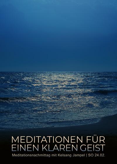 Meditieren lernen - Klarer Geist