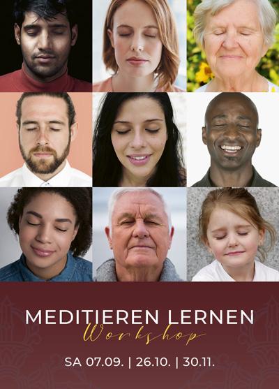 Meditieren lernen - Meditationskurs - Workshop - Luzern - 2. Halbjahr 2019