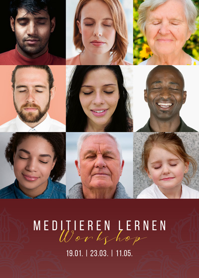 Meditieren lernen - Meditationskurs - Workshop - Luzern