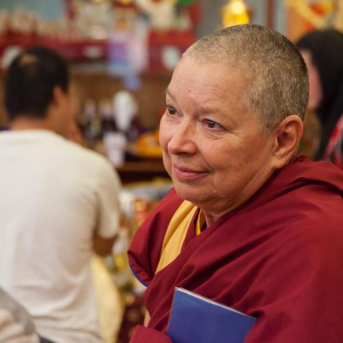 Spirituelle Leitung - Gen-la Kelsang Kunsang
