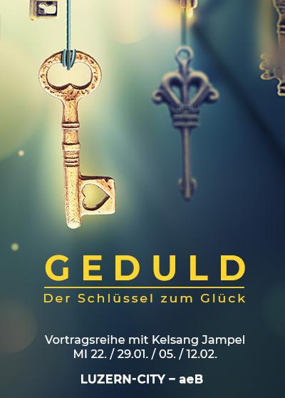 Vortrag Luzern - Buddhismus - Der Schluessel zum Glueck
