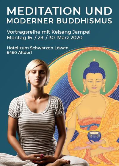 Buddhismus Vortrag Meditation - Altdorf