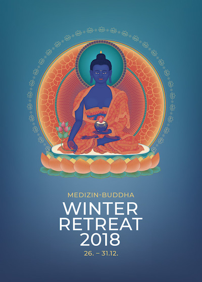 Winter Retreat 2018 - Medizin-Buddha